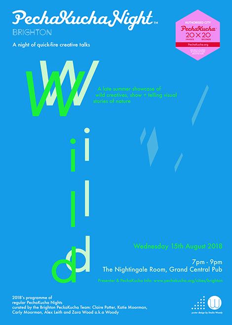 WILD PechaKucha poster