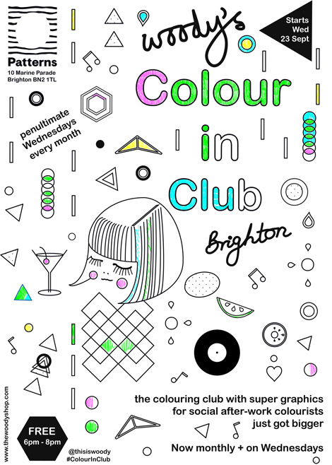 Woodys Colour In Club 470