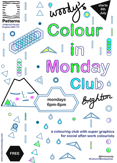 Woodys Colour In Monday Club