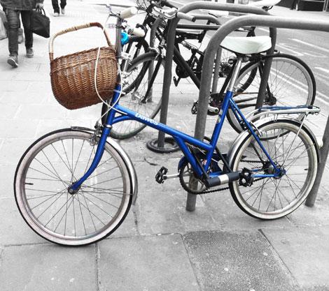little bike look out blue dawes