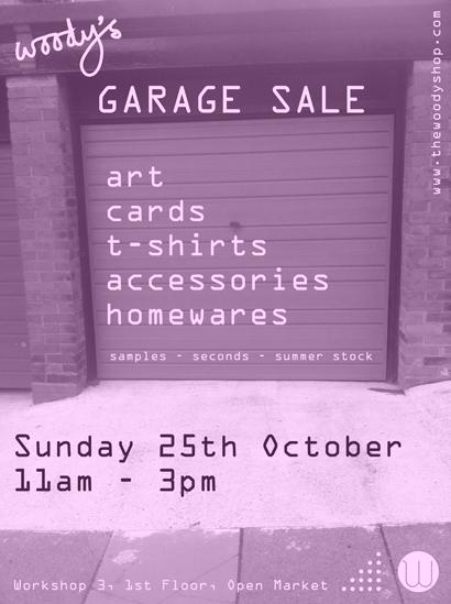 Garage Sale october 2015 Sunday