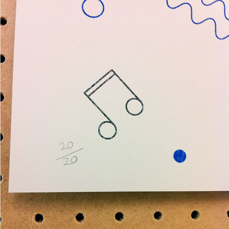 Risograph by Woody 3 mailer
