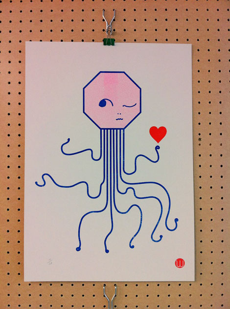 Risograph by Woody 4 mailer
