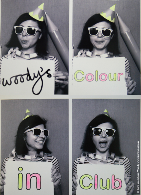 Woody Colour In Club Photobooth