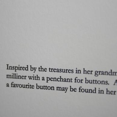 Arlena Letterpress Greeting Card