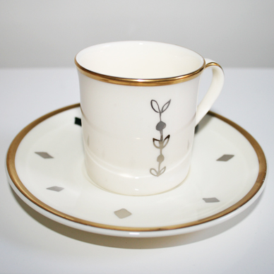 Queenie Coffee Cup & Saucer