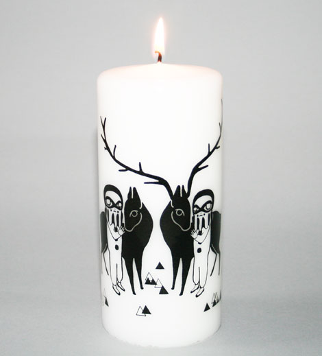 Mirrormime Candle 2