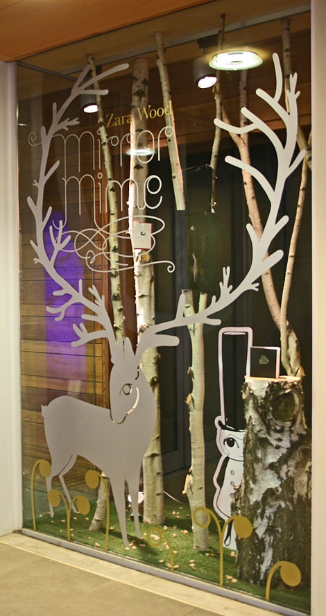 Mirror Mime YSP Shop Window