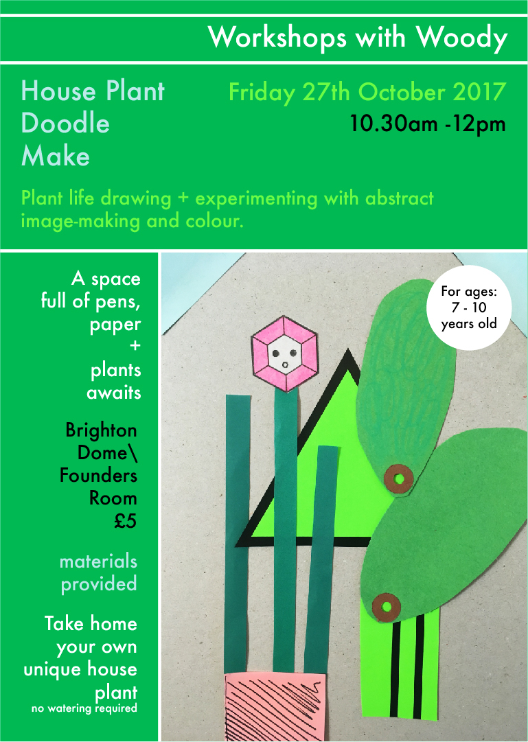 House Plant Doodle Make
