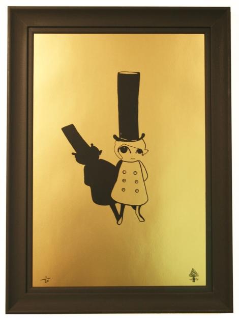 Top Hat Tinker Framed
