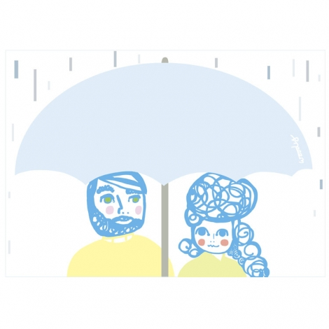 Umbrella Together by Woody