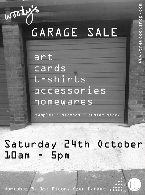 Garage Sale october 2015