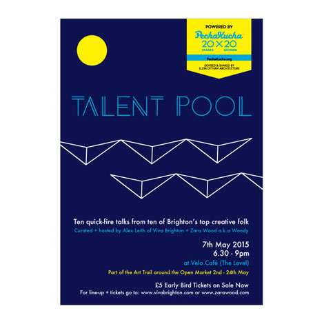 Talent Pool 7th May 2015 Poster Deux