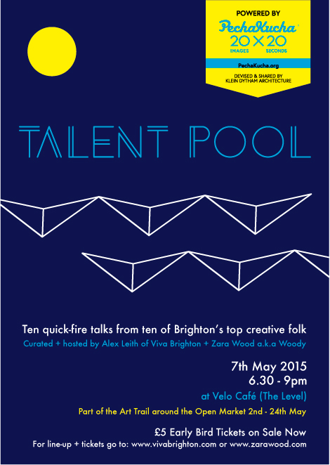 Talent Pool 7th May 2015 Poster WEB