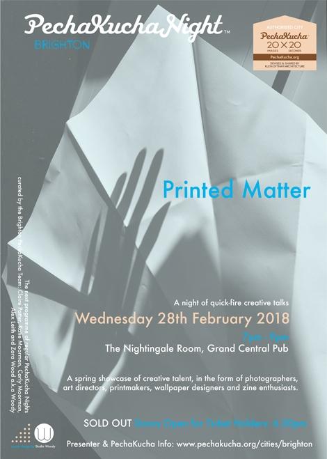 Printed Matter PechaKucha